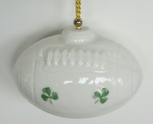 Rugby American Football Ornament Belleek Parian China – House of Claddagh  Irish Collections - Rugby American Football Ornament Belleek Parian China €� House Of