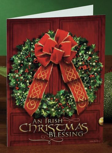 an irish christmas blessing christmas card box of 25 house of claddagh irish collections