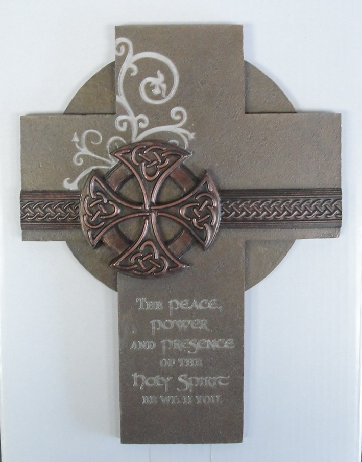 Holy Spirit Celtic Cross Abbey Press House Of Claddagh Irish