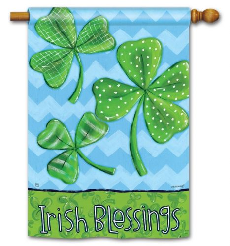 Irish Blessings Banner Flag for Your Home