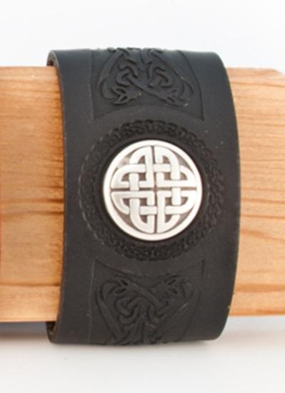 Celtic Dara Leather Cuff