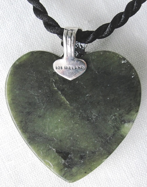 Mother/'s Day Gift Marble Heart pendant Necklace set