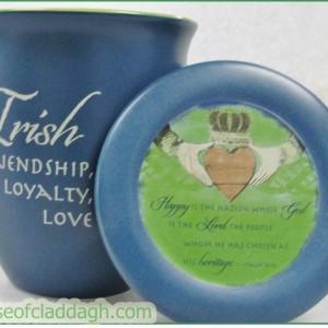Irish-Claddagh-Mug-with-Cover-or-Coaster-Inspirational-Psalm-3312-221887709651