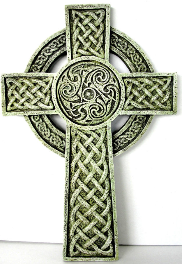 Irish celtic cross wall plaque josephs studio house of claddagh irish celtic cross wall plaque josephs studio house of claddagh irish collections voltagebd Images