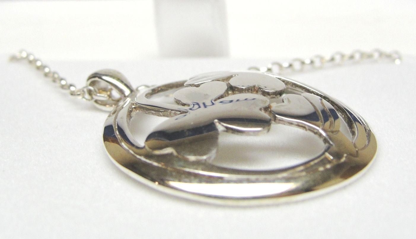 Irish Hallmarked Sterling Silver Victorian Ogham Shamrock Design ...