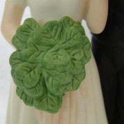 Home Shop Gifts Wedding Gifts Celtic Claddagh Shamrock Musical Bride And Groom Cake Topper Or Figurine